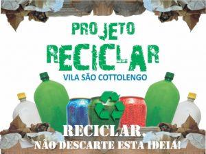 Projeto Reciclar da Vila São Cottolengo