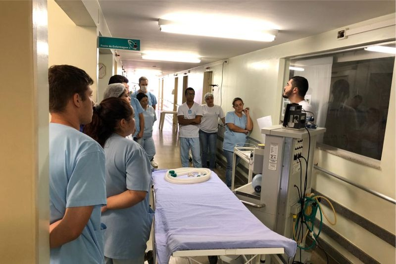 Treinamento enfermagem Vila São Cottolengo
